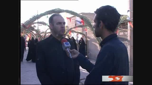 یادواره شهدای اقبال شرقی روستای حمید آباد - استان قزوین