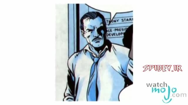 معرفی شخصیت : مرد آهنی (Iron Man)