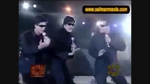 اجرای مشترک شاهرخ خان، آمیتاباچان،سلمان خان/ فوق العاده
