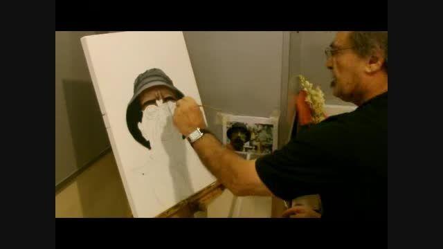 تایم لپس نقاشی timelapse