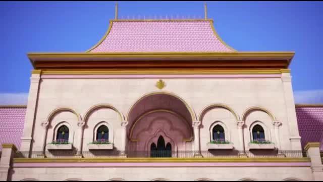 Barbie rock in royal music video
