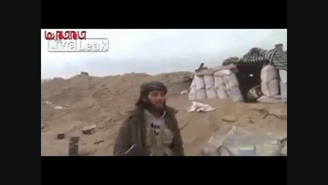 کشته شدن تروریست مقابل دوربین در سوریه فیلم گلچین صفاسا