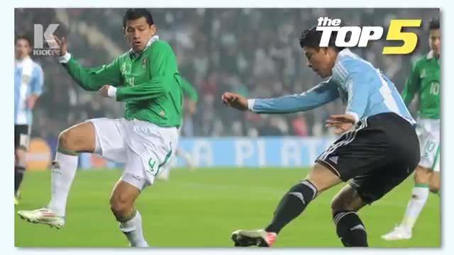 5 گل برتر تاریخ کوپا آمریکا