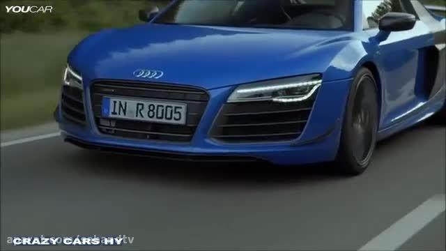 طراحی دو ابر خودرو آلمانی  2015 BMW i8 v Audi R8