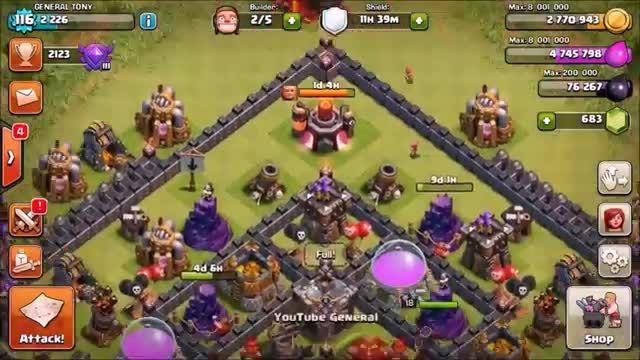 سیگنال: معرفی Town Hall 11 در Clash Of Clans