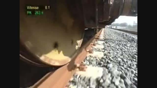 سریعترین قطار جهان با سرعتی بیش از 574 کیلومتر بر ساعت!