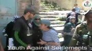 سربازان اسرائیلی، کودکان فلسطینی را در الخلیل بازداشت کردن