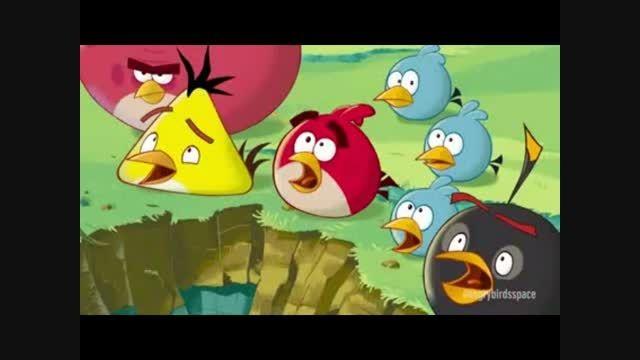 کارتون پرندگان خشمگین به زودی...