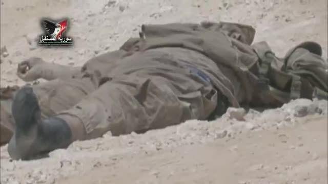 تعداد زیادی داعشی کشته شده توسط ارتش سوری در پالمیرا