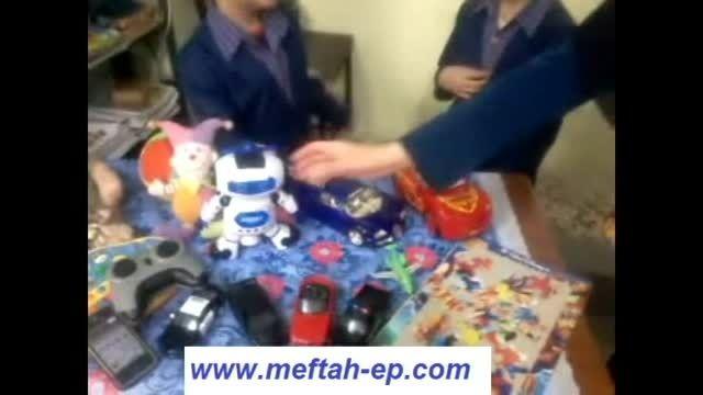 آشنایی با اسباب بازی های در زنگ زبان انگلیسی