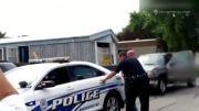 برخورد وحشیانه پلیس آمریکا با شهروندان آمریکایی