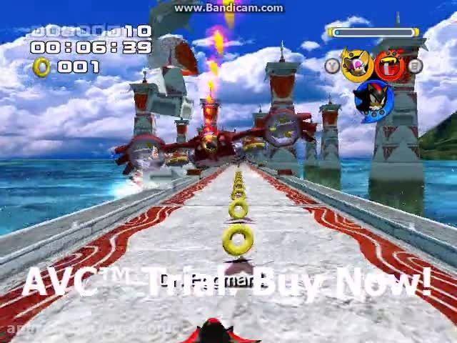 Sonic Heroes - Egg Hawk - Team Dark