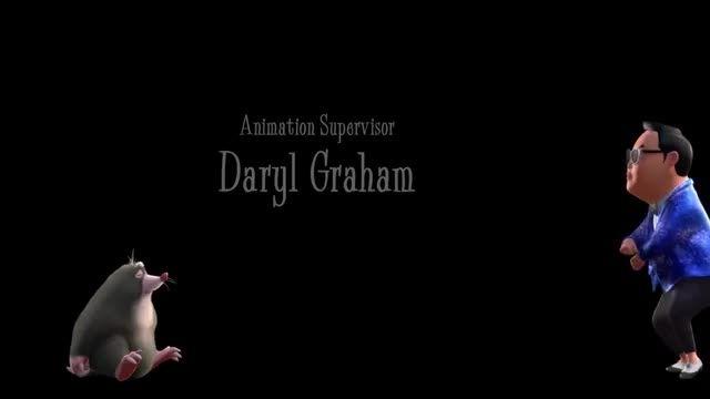 رقص گانگام استایل تیتراژ پایانى انیمیشن the nut job