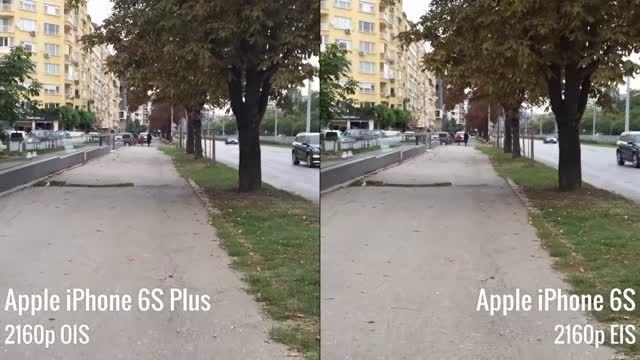 مقایسه لرزش گیر آیفون 6s با لرزش گیر آپتیکال آیفون 6s P