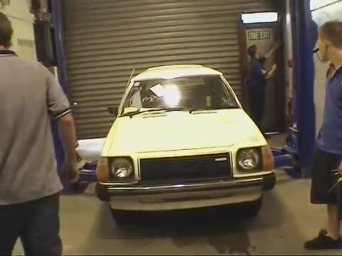 Import X TV Show No Cams Motorsport built Mazda 323 car
