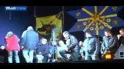 التماس نیروهای سابق ضد شورش اوکراین به مردم خشمگین!!!