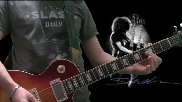 کاور قطعه شنیدنی Guns N' Roses - Sweet Child O' Mine