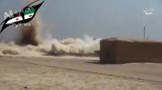 منفجر کردن خانه های کردهای سوریه توسط داعش