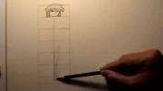 تناسبات موجود در بدن انسان در طراحی مانگا-نسبت سر به بدن