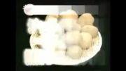 سیب زمینی پوست کندن به سبک ژاپنی