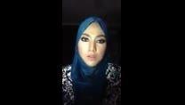 لب خوانی دختر مسلمان