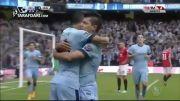گل بازی منچستر سیتی 1 - 0 منچستر یونایتد