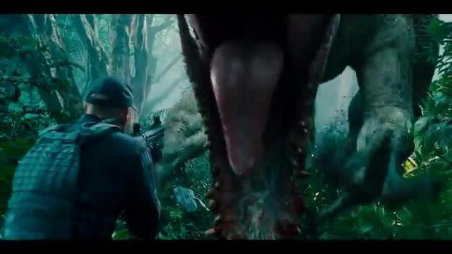 تریلر فیلم فوق العاده اکشن و تخیلی  Jurassic World 2015