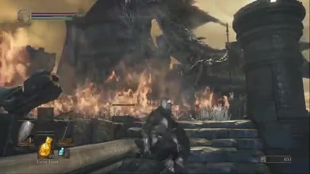 TGS 2015: تریلر جدیدی از گیم پلی عنوان Dark Souls 3