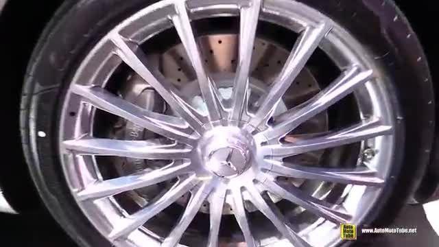 مرسدس می باخ s600 در نمایشگاه خودروی لس آنجلس