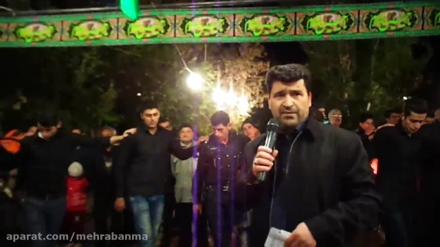 عزاداری مردم مهربان در میدان شهرداری محرم94