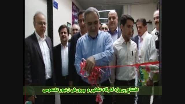 افتتاح 2 پروژه در کشت  و صنعت میرزا کوچک خان در خوزستان