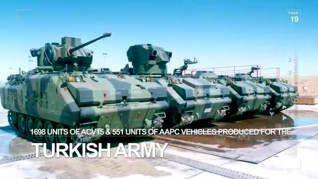 تکنولوژی دفاعی ترکیه - محصولات سیستم های دفاعی FNSS
