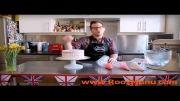روزمنو -  آموزش تزئین کیک فوق العاده زیبا و ساده