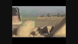 ترکوندن تیربارچی داعش با خمپاره