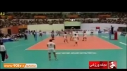 پیش بازی والیبال ایران - صربستان