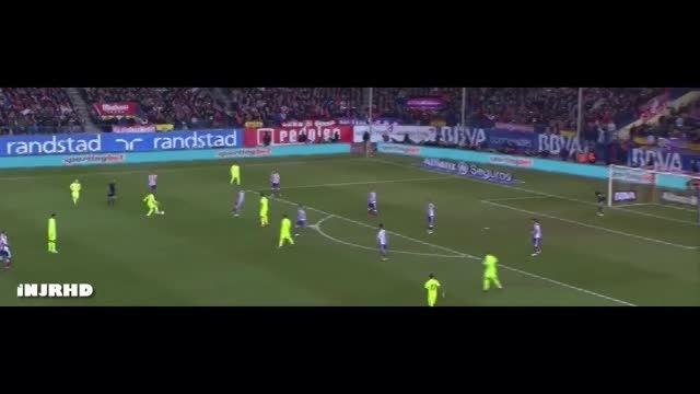 حرکات نیمار مقابل اتلتیکو مادرید- دور برگشت کوپا دل ری