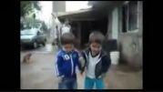 رقص باحال دو پسر بچه