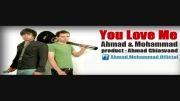 آهنگ احساسی و شاد تو هم عاشقمی از احمد و محمد غیاثوند