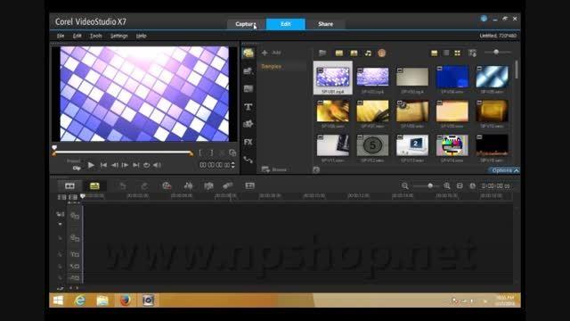 آشنایی با محیط Corel Video Studio