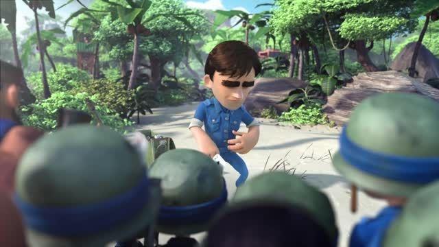 انیمیشن Boom Beach قسمت 3