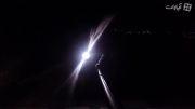 تست دید در شب دوربین گوپرو