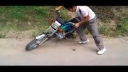 تک چرخ زن ناشی / موتور