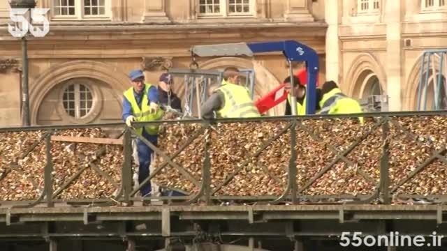 سرنوشت غم انگیز قفل های عشاق روی پل پاریس