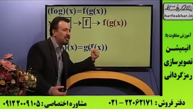 روش های تست زنی ریاضی کنکور | ترکیب توابع (1)