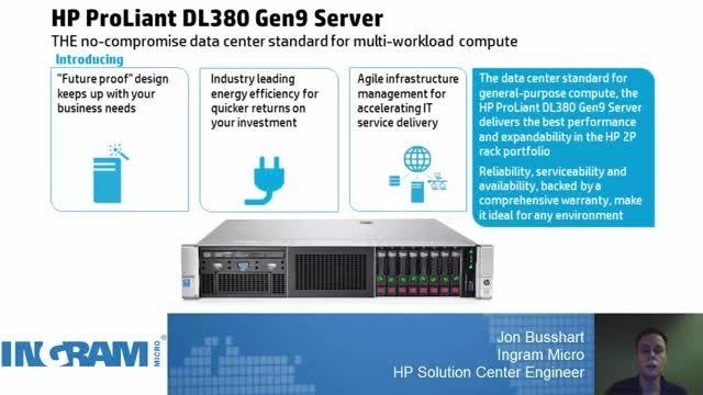 HP Proliant Server DL380 G9