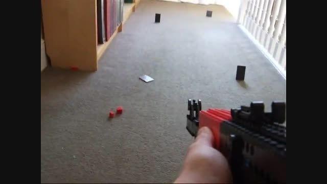 ساخت اسلحه AK 47 با لگو