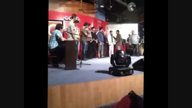 مسابقه و کمدی در جزیره ی کیش - حسن ریوندی