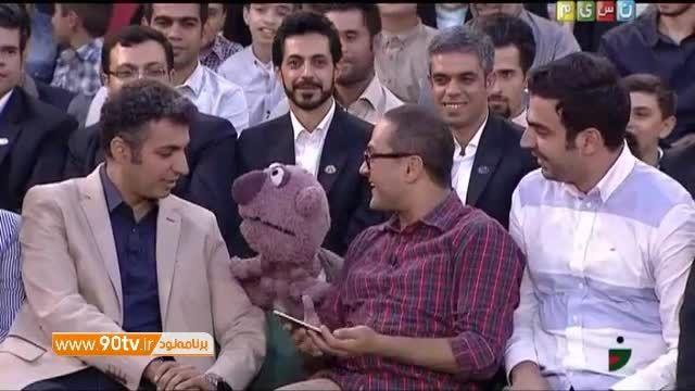سلفی یهویی جناب خان با امیر و عادل فردوسی پور