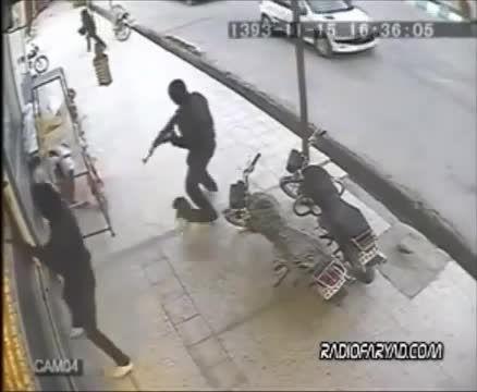 سرقت از طلا فروشی در ایران به سبک فیلمهای هالیوود