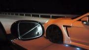 درگ مرسدس بنز S63 AMG و پورشه Twin Turbo و جگوار XJL